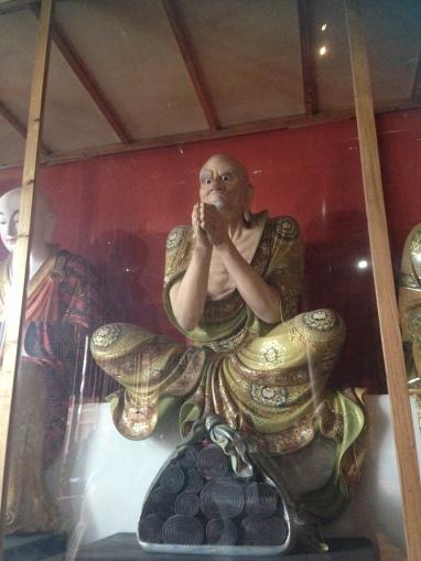 Buddhist Statue in the Temple