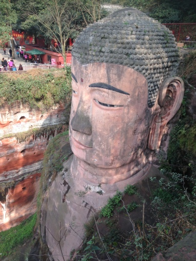 The Grand Buddha from the top