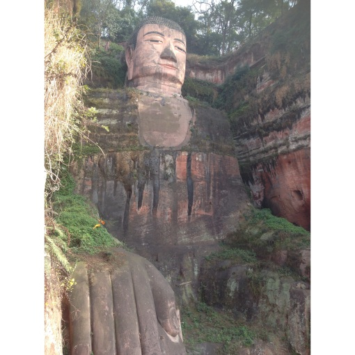 The Grand Buddha from the bottom