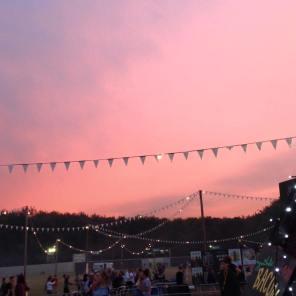 Sunset at Leeds