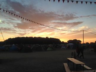 Sunset at Latitude